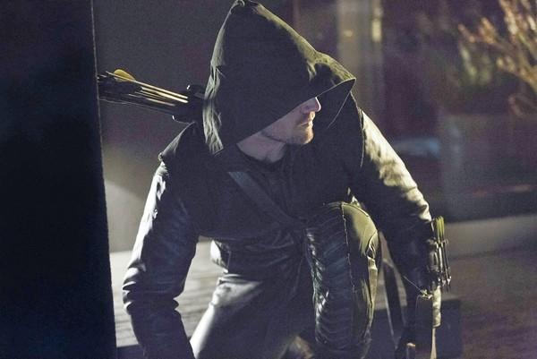 Stephen Amell stars as Arrow.