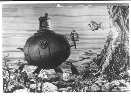 "<b> Jules Verne </b><br> <br> Two of Verne's works in particular, ""20,000 Leagues Under the Sea"" and ""The Mysterious Island,"" have been key influences on ""Lost."" Though the submarine the Others used to get on and off the island was nowhere near as exotic as Captain Nemo's Nautilus, the visual was similar enough to evoke Verne. But more explicit references can be found to Verne's ""Mysterious Island,"" which had its main characters arrive on the island on a hot-air balloon."