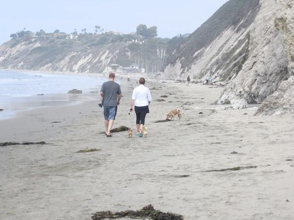Hendry's Beach in Santa Barbara, Calif.