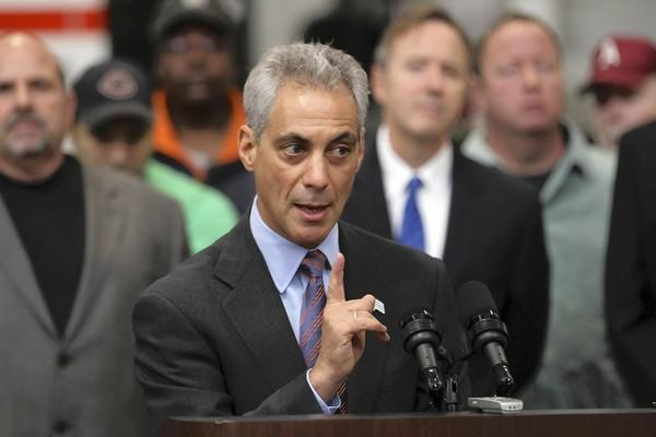 "Mayor Rahm Emanuel said Tuesday about the Illinois Sports Facilities Authority floating publicly financed bonds to help pay for Wrigley Field repairs: ""It's ridiculous. It's not even on the table."""