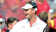 USC's Lane Kiffin is doing fine, paranoia and all