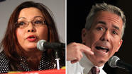 "A heated suburban congressional campaign boiled over during a Tuesday night debate as Republican Rep. Joe Walsh labeled Tammy Duckworth a ""failed bureaucrat"" running a poll-tested campaign while the Democratic challenger argued the incumbent serves the tea party instead of his district."