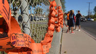 Dressed in school colors and bright orange T-shirts, the students and teachers at De Anza Magnet School pledged to do their part in the fight against bullying here Tuesday morning.