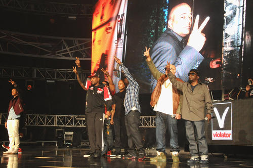 Diggy Simmons, Fat Joe and Phife Dawg perform onstage