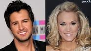 "<span style=""font-size: small;"">Luke Bryan and Carrie Underwood each received two nominations for the American Music Awards. Luke is nominated for Favorite Male Country Artist andFavorite Country Album for Tailgates & Tanlines. Carrie is nominated for Favorite Female Country Artist and Favorite Country Album for Blown Away. Lionel Richie's Tuskegee rounds out the Country Album category. Other nominees include Jason Aldean and Eric Church in the Male category, Miranda Lambert and Taylor Swift in the Female category and the Zac Brown Band,Lady Antebellum and Rascal Flatts in the Favorite Country Band, Duo or Group category. The American Music Awards will air live from Los Angeles on November 18th on ABC.</span>"