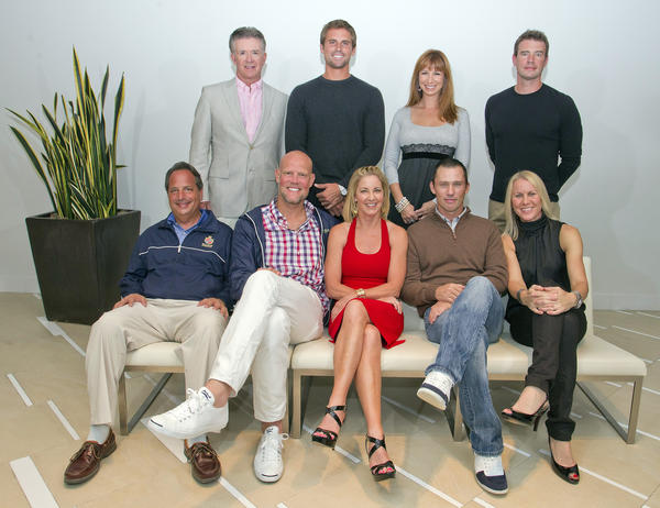 "Alan Thicke, back left, Jan Michael Gambill, Jill Zarin and Scott Foley; Jon Lovitz, front left, Murphy Jensen, Chris Evert, Jeffrey Donovan and Rennae Stubbs promote the 23rd annual ""Chris Evert/Raymond James Pro-Celebrity Tennis Classic,"" which will take place Oct. 26-28 and will benefit Chris Evert Charities. The weekend will kick off on Oct. 26 with a pro-am and cocktail reception at the Boca Raton Resort & Club followed by two days of tennis at the Delray Beach Tennis Center. For more information, visit www.ChrisEvert.org."