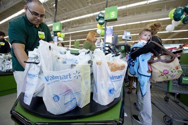 A Wal-Mart Neighborhood Market opened in Panorama City on Sept. 28.