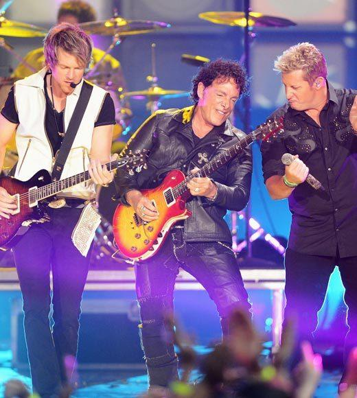 "Eli Young Band, ""Even If It Breaks Your Heart""<BR> Lady Antebellum, ""We Owned The Night""<BR> Rascal Flatts, ""Banjo"" (pictured)<BR> The Band Perry, ""All Your Life"" <BR> Zac Brown Band, ""Keep Me In Mind"""