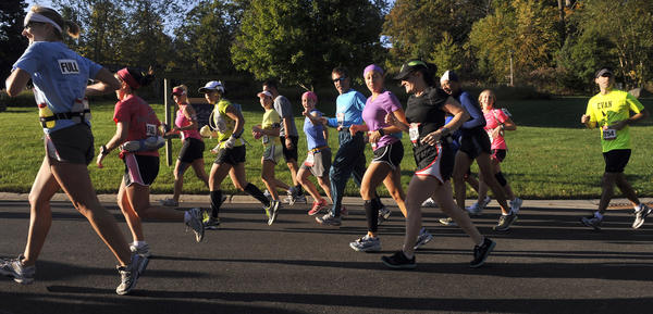 "The 2012 Baltimore Running Festival includes many different events, including the Baltimore marathon, a half-marathon, a 5K race, a team relay and a kids' fun run. Other planned activities include a free health and fitness expo at M&T Bank Stadium, a celebration village with award ceremony and a carbo-load dinner for runners.<br> <br> • Event information: <a href=""http://findlocal.baltimoresun.com/listings/under-armour-baltimore-running-festival-baltimore"">Baltimore Running Festival, Saturday around M&T Bank Stadium</a><BR>