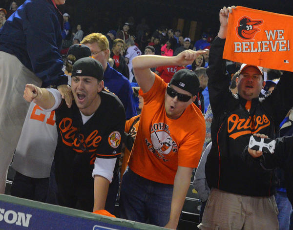 Not lucky enough to be at the game like these guys? Some local bars have Orioles-related specials this week.