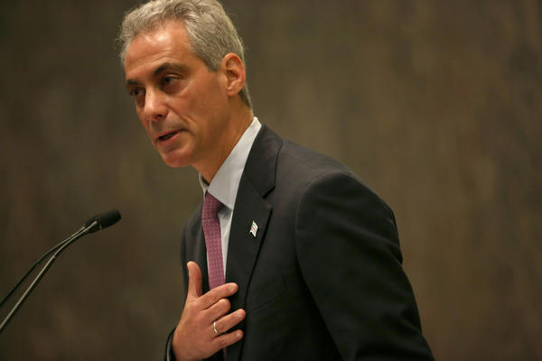Chicago Mayor Rahm Emanuel delivers his 2013 budget proposal today at City Hall.