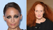 Nicole Richie and Grace Coddington