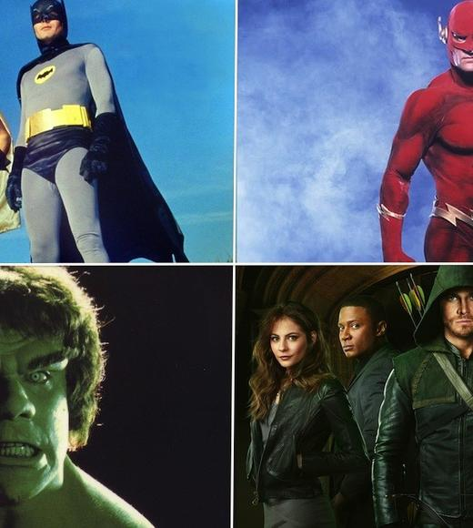 "Once upon a time, TV superheroes were doughy, kind of dorky. The sets were cardboard. The villains were campy. The plots were contrived. It was kid stuff.  <BR><BR> Now? TV superheroes have taken a darker turn. Witness ""Arrow,"" the new show from the CW. Critics are calling it one of the best new shows of the season. It's stylish, tight, well written ... and ab-tastic.  <BR><BR> How'd we get here? Follow the TV superhero from the primordial ooze of Superman to the current state or the art with our TV Superhero primer."
