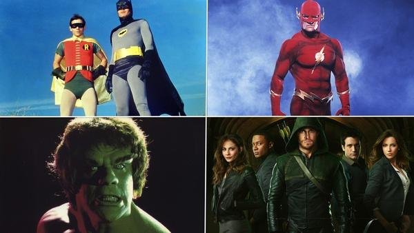 From 'Batman' to 'Arrow': The evolution of the TV superhero: Once upon a time, TV superheroes were doughy, kind of dorky. The sets were cardboard. The villains were campy. The plots were contrived. It was kid stuff.   Now? TV superheroes have taken a darker turn. Witness Arrow, the new show from the CW. Critics are calling it one of the best new shows of the season. Its stylish, tight, well written ... and ab-tastic.   Howd we get here? Follow the TV superhero from the primordial ooze of Superman to the current state or the art with our TV Superhero primer.