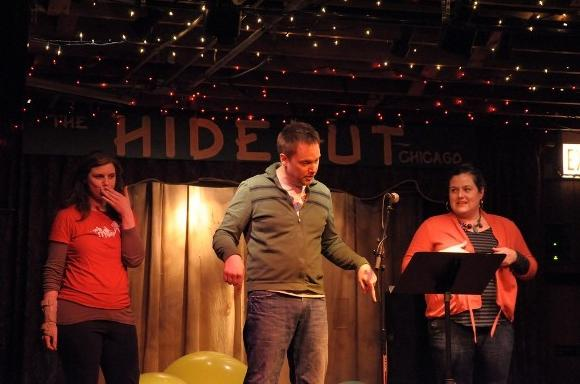 Write Club at Hideout