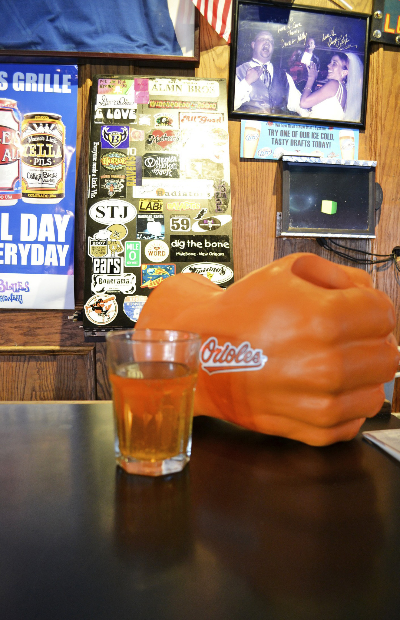 Orioles cocktails at Baltimore bars [Pictures] - Orioles Magic Bomb at Mother