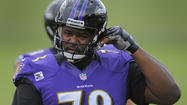 The time for a change at left tackle is unlikely to be now for the Ravens despite starter Michael Oher struggling against the Kansas City Chiefs and occasionally the previous week against the Cleveland Browns, according to a team source.