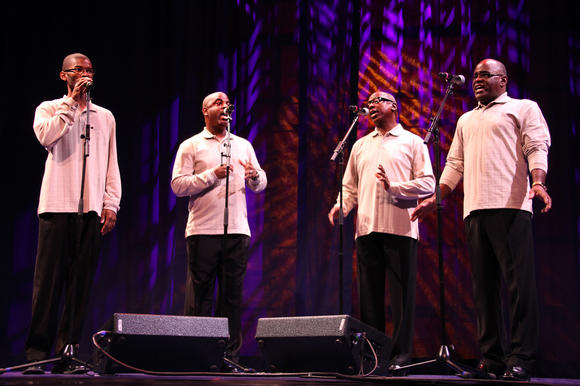 Paschall Brothers of Chesapeake perform in Washington, D.C.