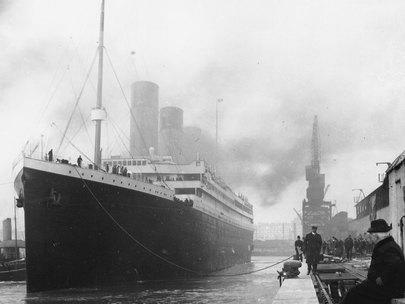 "Titanic, a British passenger liner, sank in the North Atlantic on April 15, 1912, after colliding with an iceberg on its maiden voyage, leading to the deaths of 1,502 people. The accident was brought to life in the 1997 James Cameron film ""Titanic.""<br><b>More: </b><a href=""http://www.latimes.com/entertainment/tv/showtracker/la-et-st-mythbusters-tackles-james-camerons-titanic-20121009,0,2228099.story"" target=""_blank"">'Mythbusters' debunks the tear-jerker 'Titanic' finale</a>"