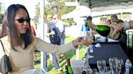 Hundreds of locals visited Memorial Park on Sunday for a taste of the good life.