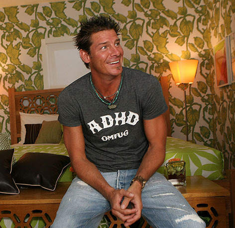 Designer Ty Pennington knows how to transform a house.  He can come over to ours anytime.  The TV star turns 46 today.
