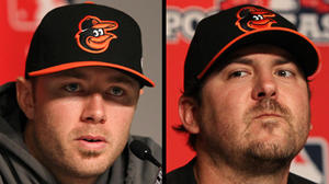 Buck uses a bit of mystery: Tillman or Saunders could pitch Game 4 Thursday
