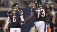 The Bears hit their weekend off feeling good about themselves in a tie atop the NFC North and general manager <b>Phil Emery</b> left no room for interpretation — he really likes his quarterback.