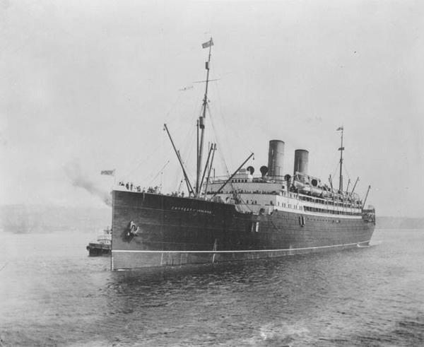 The Empress of Ireland sank in the fog-shrouded St. Lawrence River following a collision with a Norwegian coal transport ship on May 29, 1914. The accident claimed the lives of 1,012 people.