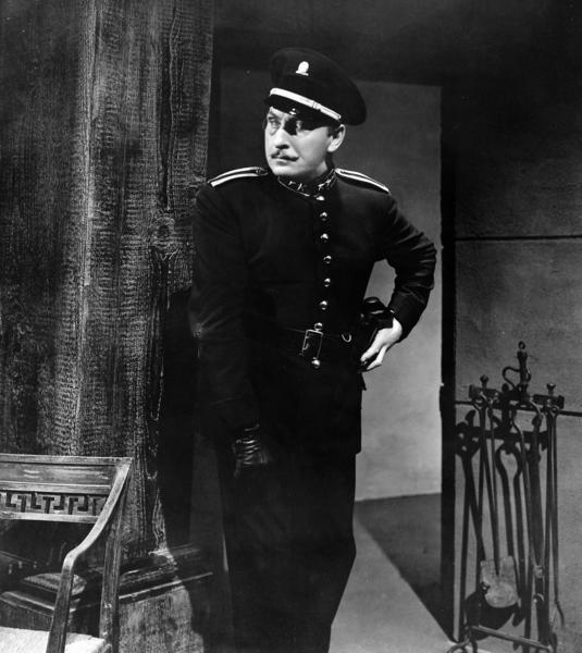 "<em>Lionel Atwill in ""Son of Frankenstein.""</em>