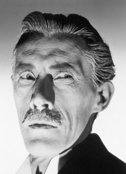"<em>John Carradine in ""House of Dracula.""</em>