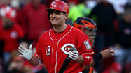 "CINCINNATI — When Joey Votto comes to the plate at Great American Ball Park, the Rolling Stones' ""Paint it Black'' plays over the ballpark's speakers. It's a tough song for a tough town, and the Reds' fans love it."