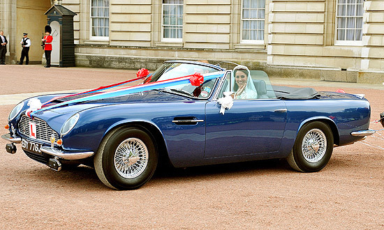 The cars they drove - <b>Aston Martin DB6 Mark II Volante</b>