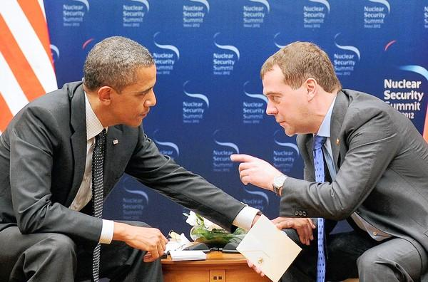 "At a March meeting in Seoul, South Korea, President Barack Obama told Russian President Dmitry Medvedev that ""after my election I have more flexibility"" in regards to a plan to place American missiles near Russia."