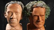 I have terrible news to report to Chumbolone Nation (aka American taxpayers) in the matter of the presidential Chia Heads.