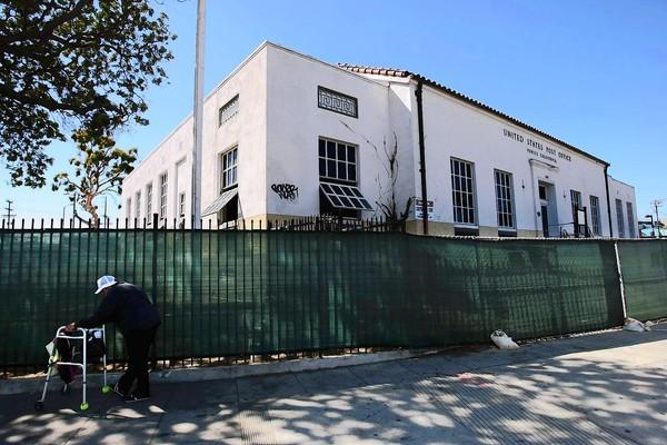 The 1939 building that once housed the Venice Post Office will soon undergo renovation to become the headquarters of Silver Pictures.