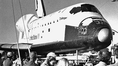 From the Archive: Moving space shuttles