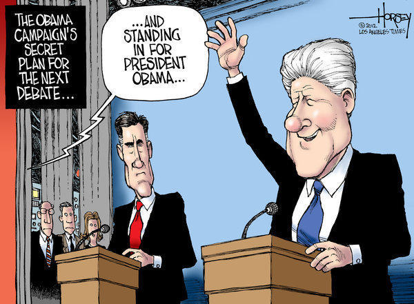If only Bill Clinton could be Obama's debate surrogate