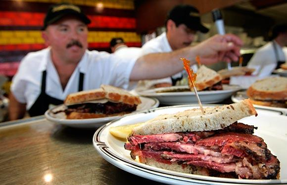 "Langer's pastrami sandwich ""encapsulates perfection,"" author David Sax says."