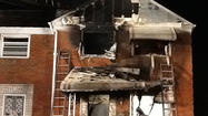 Fatal Northeast Baltimore fire