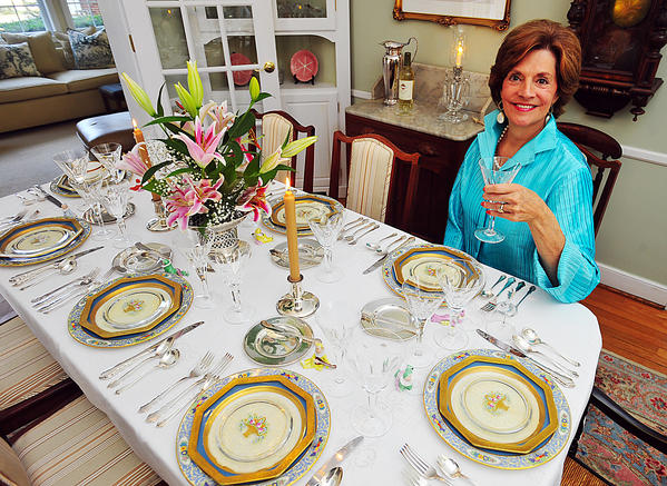 Gocha said the detail on her grandmothers century-old plates are hand painted.