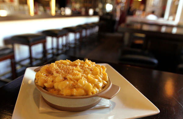Mac and cheese at American Social restaurant