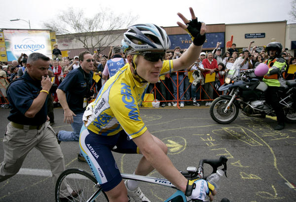 Levi Leipheimer has been suspended by his team in the wake of the Lance Armstrong report.