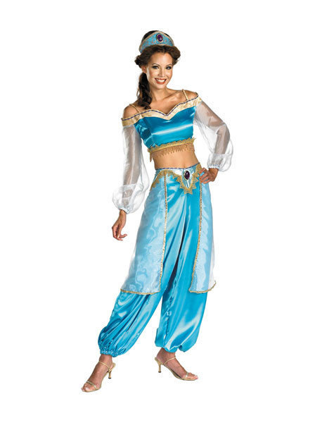 Sexy, adult Halloween costumes - Jasmine