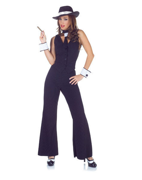 Sexy, adult Halloween costumes - Gangster