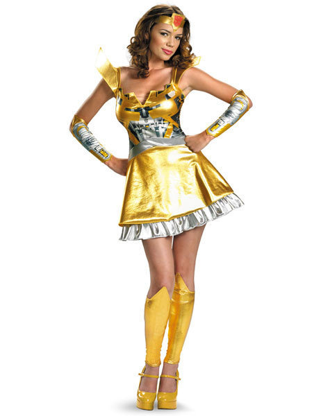 "Sexy, adult Halloween costumes - Bumblebee from ""Transformers"""