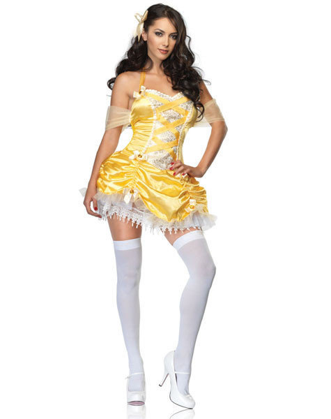 Sexy, adult Halloween costumes - Belle