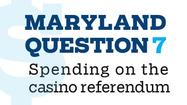 Question 7: Spending on the casino referendum [Interactive graphic]