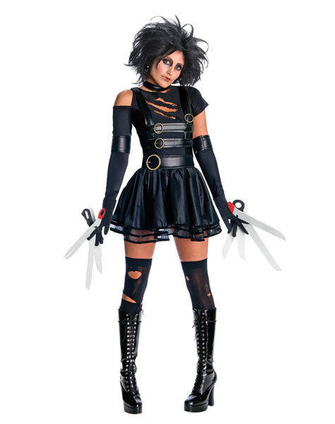 Unnecessarily sexy Halloween costumes: Watch what youre cutting, lady.