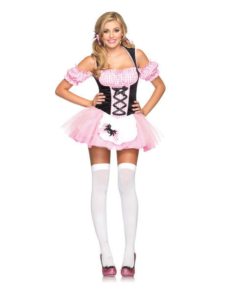 Sexy, adult Halloween costumes - Miss Muffet