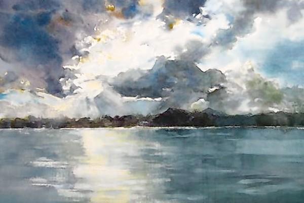 """""""Storm,"""" by Bonita Glaser."""